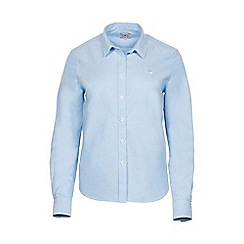 Raging Bull - Mid blue signature Oxford shirt