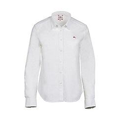 Raging Bull - White signature Oxford shirt