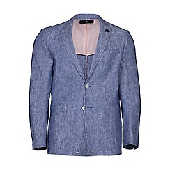 Raging Bull - Mid blue linen blazer