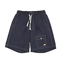 Raging Bull - Navy plain board short
