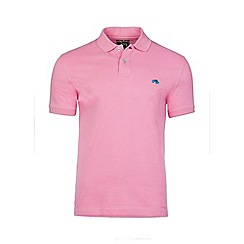 Raging Bull - Pink fly fit plain polo