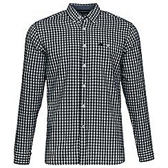 Raging Bull - Green three colour check shirt