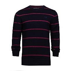 Raging Bull - Crew neck striped sweater
