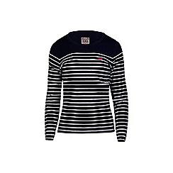 Raging Bull - Long sleeve striped t-shirt