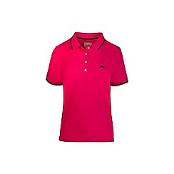 Raging Bull - Pink plain polo shirt