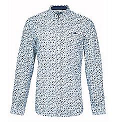 Raging Bull - White floral print shirt