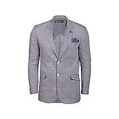 Raging Bull - Stone linen check blazer