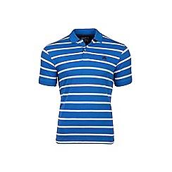 Raging Bull - Breton blue polo shirt