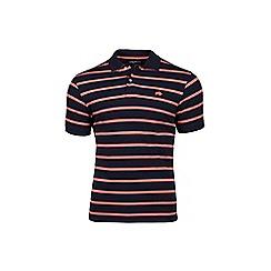 Raging Bull - Big and tall Beton navy polo shirt