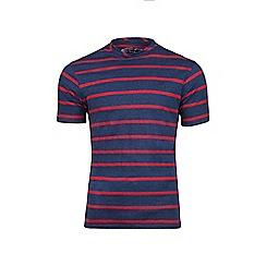 Raging Bull - Navy stripe t-shirt