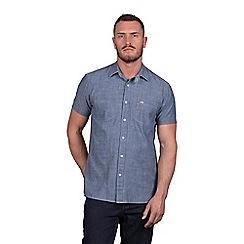 Raging Bull - Big and tall short sleeve chambray denim shirt