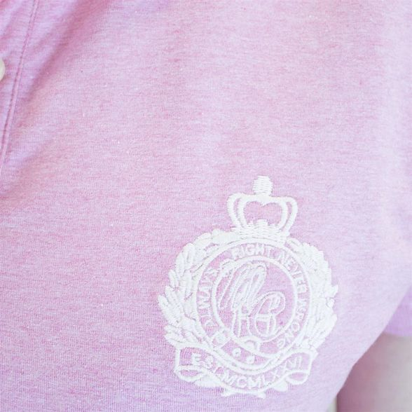 Light polo pink crest Raging shirt Bull 8avzqAwB