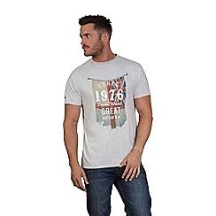 Raging Bull - Grey flag t-shirt
