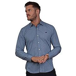 Raging Bull - Navy 'Ditzy' floral print shirt