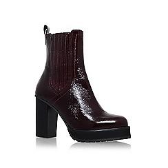 KG Kurt Geiger - Red 'Storm' high heel boots