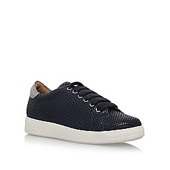 Carvela - Blue 'Jaguar' flat lace up sneakers