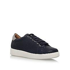 Carvela - Blue 'Jaguar' flat lace up sneakers