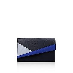 Miss KG - Blue 'Heidi' clutch bag