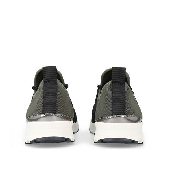 top Carvela flat trainers low 'Lamar' Khaki wRYIq0T