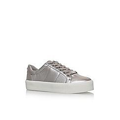 Carvela - Metal 'Lint' flat lace up sneakers