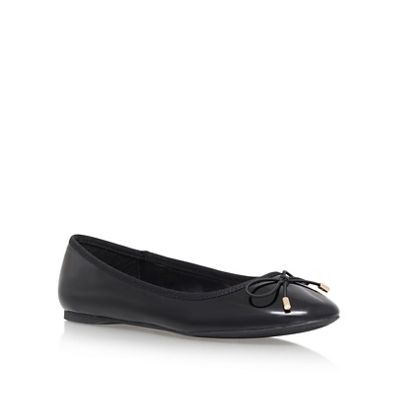 Carvela - Black 'Melody 3' flat ballerina shoes