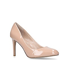 Carvela - Beige 'Aimee' mid heel court shoes