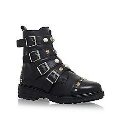 Carvela - Black 'Swish' flat biker boots