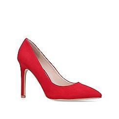Carvela - Red 'Kestral2' high heel court shoes