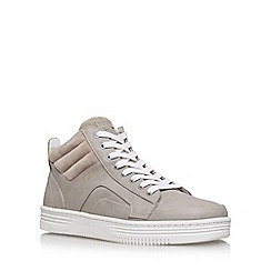 KG Kurt Geiger - Grey 'PHOEBE' flat lace up sneakers