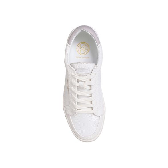 Kurt lace KG Geiger sneakers up Valadez White flat 1wwzqd7