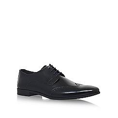 KG Kurt Geiger - Black 'Kirby' flat lace up shoes