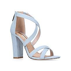 Miss KG - Blue 'faun' high heel sandals