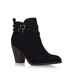 Miss KG - Black 'Spike' high heel ankle boots