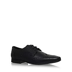 KG Kurt Geiger - Black 'KENFORD' flat lace up shoes