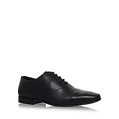 KG Kurt Geiger - Black 'KENWALL' flat lace up shoes