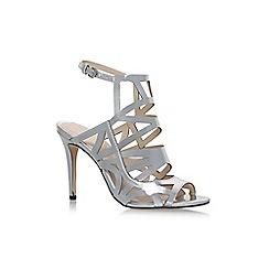 Nine West - Silver 'Nasira' high heel sandals