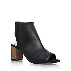 KG Kurt Geiger - Black 'Bobbie' high heel sandals