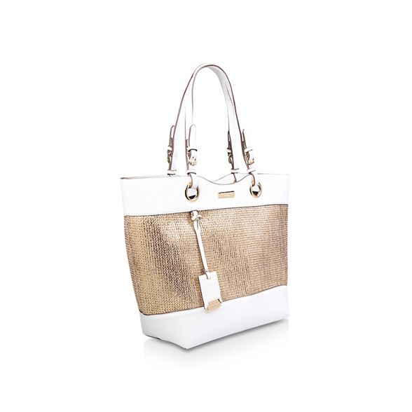 Weaved 'Lucinda Carvela tote bag Shopper' Gold SqSE8wf