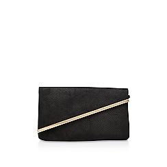 Miss KG - Black 'Hallie' clutch bag