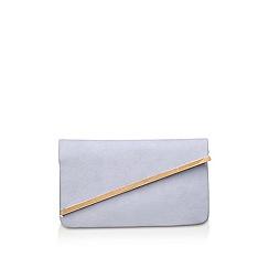 Miss KG - Blue 'Hallie' clutch bag