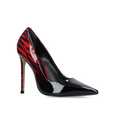 Carvela - Black 'alice' high heel court shoes