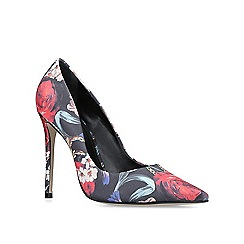 Carvela - Floral 'alice' print high heel court shoes