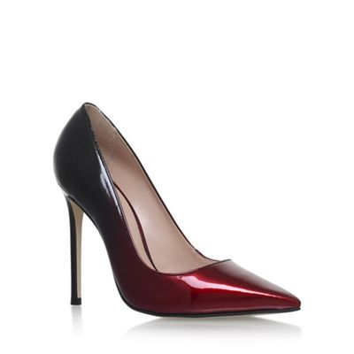 Carvela - Red 'Alice' high heel court shoes