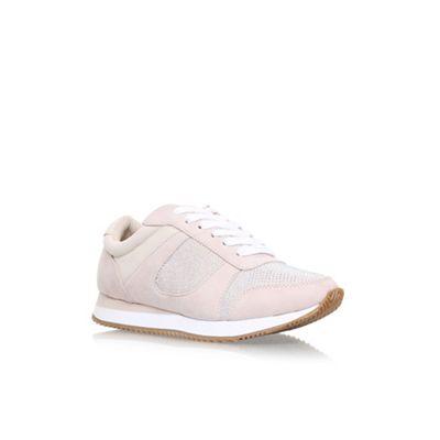 Carvela - Natural Mega 2 flat lace up sneakers