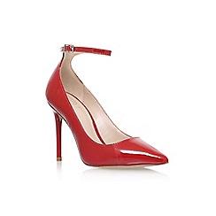 KG Kurt Geiger - Red 'Estha' high heel shoes
