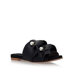 KG Kurt Geiger - Black naomi flat sandals