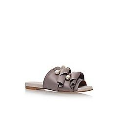 KG Kurt Geiger - Beige naomi flat sandals