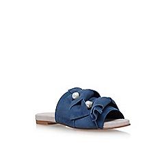 KG Kurt Geiger - Blue naomi flat sandals