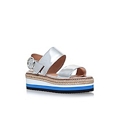 Carvela - Silver 'Keith' flat sandals