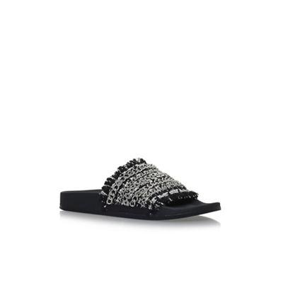 Carvela - Black 'Kit' flat flat 'Kit' sandals b3f438